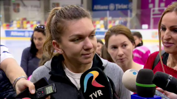 """""""Eu nu fac politica!"""" Ce spune Simona Halep despre huiduielile primite de Firea pe National Arena"""