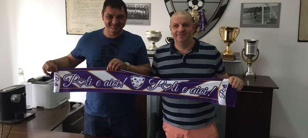 I s-a terminat suspendarea! :)) Ionel Ganea e noul antrenor al lui ACS Poli Timisoara