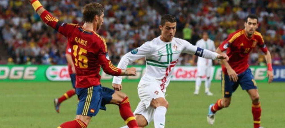 PORTUGALIA - SPANIA LIVE, primul derby de la Cupa Mondiala 2018 | Spania are palmares mai bun! Ronaldo, principalul inamic