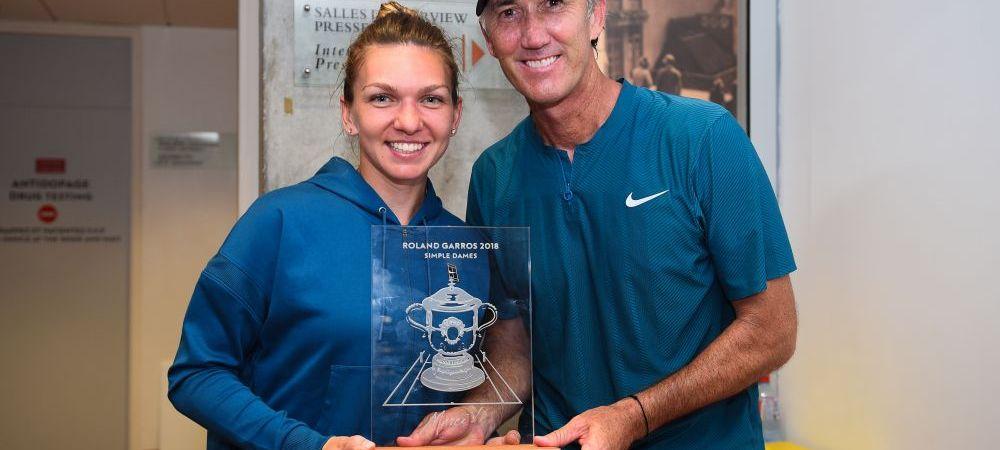 """Primul interviu dat de Darren Cahill dupa triumful Simonei Halep la Roland Garros! Antrenorul Simonei a recunoscut sincer ce s-a intamplat la momentul """"Miami"""""""