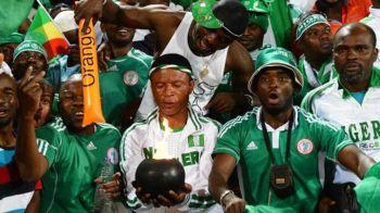 Probleme in Rusia: suporterii Nigeriei, suparati ca nu sunt lasati cu gaini pe stadioane :)