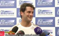 """""""Ilie Dumitrescu cedeaza primul, nici nu poate sa mearga!"""" :) Generatia de Aur vs. Barcelona, pe Cluj Arena"""