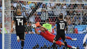 VIDEO Argentina - Islanda 1-1 | Prima SURPRIZA a Mondialului: BLESTEMUL penalty-urilor loveste din nou Argentina