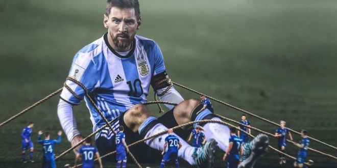 L-am lucrat mental!  Extraordinar: Cum a reusit portarul Islandei sa-l faca pe Messi sa rateze penalty-ul