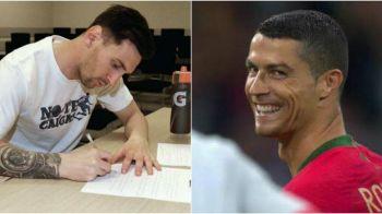Ce i-a scris Messi lui Cristiano, dupa penaltyul ratat cu Islanda :) Fanii portughezului s-au amuzat dupa prestatia rivalului sau