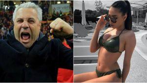 """Fata lui este model! FOTO """"BOMBA"""": Sarah Sumudica, fiica fostului campion al Romaniei, i-a innebunit pe fotbalistii din Liga I"""