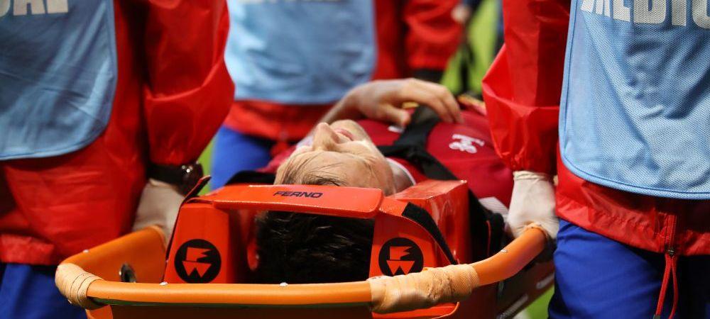 """Ghinion teribil! Fotbalistul pentru care Mondialul s-a incheiat dupa 36 de minute: """"Are fractura! E greu de inlocuit"""""""