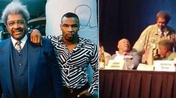 Mike Tyson a innebunit cand Don King l-a apucat de umar! Ce reactie a avut - VIDEO