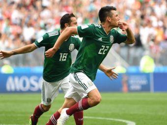 VIDEO // Germania - Mexic 0-1! Cea mai mare surpriza: Mexic invinge campioana mondiala in derby-ul grupei!