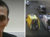 Batut si cu lacrimi in ochi, soferul taxiului explica de ce a intrat in multime, la Moscova