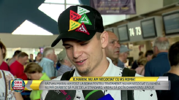 """""""Sezonul viitor vreau sa joc in Champions League!"""" Razvan Marin, despre discutiile privind transferul la Roma"""