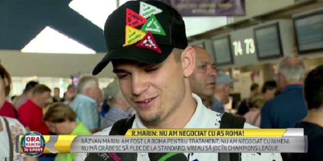 Sezonul viitor vreau sa joc in Champions League!  Razvan Marin, despre discutiile privind transferul la Roma