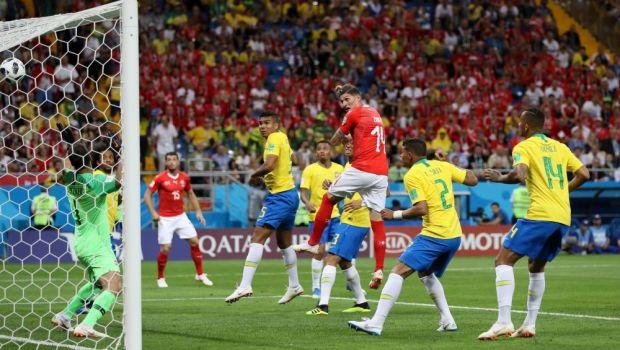 Brazilia - Elvetia 1-1! CE NEBUNIE! Elvetia ofera inca o mare surpriza la Campionatul Mondial