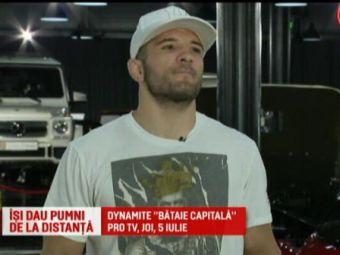 Bombardierul Pascu il provoaca pe Zmarandescu la finala Romaniei la bataie in cusca! Super gala la PRO TV, pe 5 iulie
