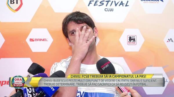 """Chivu, incercand sa explice unde a gresit Dica cu Alibec: """"Nu poti sa vorbesti cu Chivu asa cum vorbesti cu Mutu!"""""""