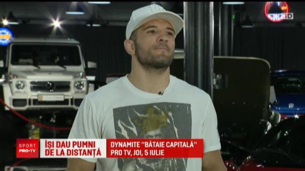 Bombardierul Pasu il provoaca pe Zmarandescu la finala Romaniei la bataie in cusca