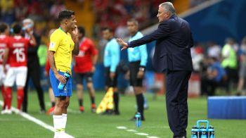 """""""Nelinistea ne-a lovit!"""" Primele explicatii ale brazilienilor dupa surpriza din meciul de debut"""