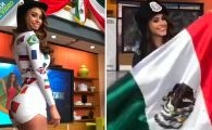 VIVA MEXICO! Cum a sarbatorit cea mai sexy prezentatoare victoria cu Germania. VIDEO