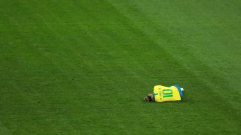 Panica la nationala Braziliei dupa primul meci: Neymar a incheiat meciul cu dureri mari! Cum arata glezna starului de la PSG