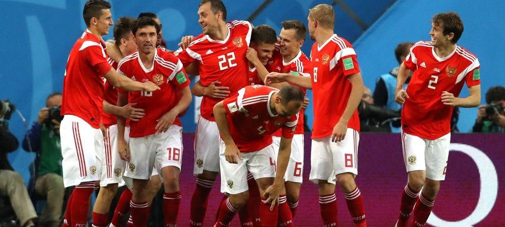RUSIA - EGIPT 3-1 CUPA MONDIALA 2018 | Rusii, 8 goluri in doua meciuri! Rusia, prima echipa calificata in optimi