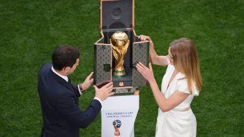 Cum este fabricat trofeul de la Campionatul Mondial! Unde se confectioneaza cupa pe care o primeste nationala invingatoare | VIDEO