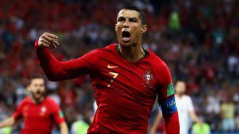 L-a luat RADARUL! Cristiano Ronaldo a doborat RECORDUL DE VITEZA in fotbal la 33 de ani! Sprint istoric vs Spania!