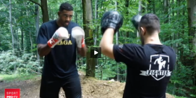 Benny se bate in gala de pe 5 iulie, la PRO TV, si vrea un meci cu Joshua, campionul greilor la box