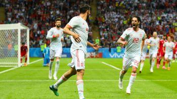 IRAN - SPANIA 0-1 CUPA MONDIALA 2018   Spaniolii au castigat dintr-o faza norocoasa! Iran a reusit sa inscrie, dar golul a fost anulat de VAR