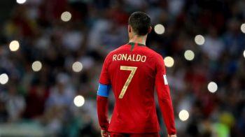 O noua AROGANTA la adresa lui Messi? FOTO FANTASTIC! Cum a aparut Ronaldo la meciul cu Maroc. FOTO