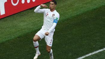 Cristiano Ronaldo, jucatorul momentului la Cupa Mondiala 2018! Ce RECORD FABULOS a stabilit cu Maroc!