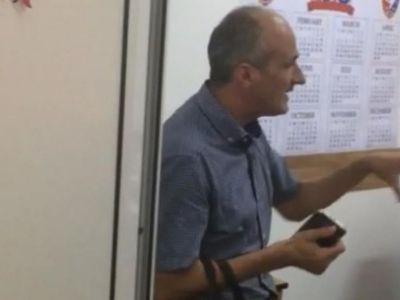 """Scandal monstru facut de Talpan la sediul AMFB: """"E un abuz! Va bateti joc de sportul din Romania"""" Juristul CSA contesta promovarea Rapidului"""