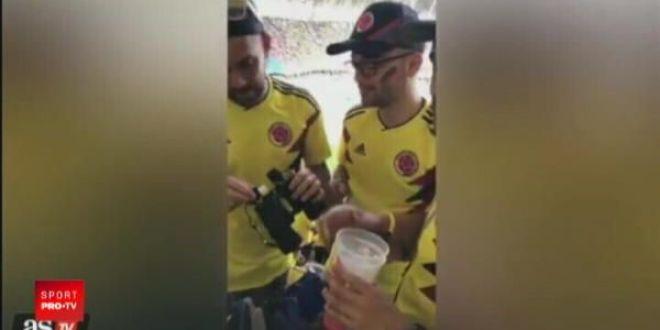 Imaginatia fanilor nu cunoaste limite! INCREDIBIL   Cum au reusit columbienii sa intre cu alcool pe stadion
