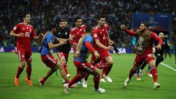 VAR face victime! Un om din staff-ul Iranului a ajuns la spital dupa anularea golului cu Spania!