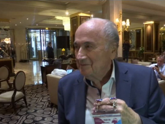 """Blatter a ajuns in Rusia: """"Asta e MONDIALUL meu!"""" Ce a vorbit cu Putin. VIDEO"""