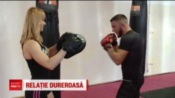 VIDEO | Campioana Romaniei la fitness isi terorizeaza iubitul: l-a transformat intr-o masina de lupta!