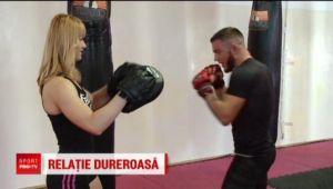 VIDEO   Campioana Romaniei la fitness isi terorizeaza iubitul: l-a transformat intr-o masina de lupta!