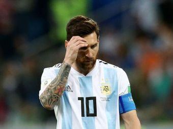 CATASTROFA ,  CAVALERII DURERII . Reactia presei argentiniene dupa naufragiul incredibil al lui Messi si Aguero in fata Croatiei