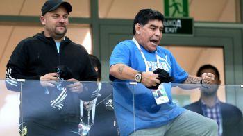 Reactia incredibila a lui Maradona dupa 0-3 in fata Croatiei! El Pibe d'Oro a aparat un singur jucator, pe Messi, si a facut praf echipa