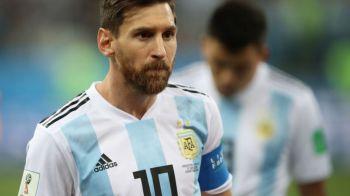 Incredibil! Imaginea dezastrului: Messi a dat mai putine pase decat portarul Caballero!