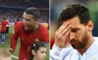 Diferenta dintre Messi si Ronaldo la Mondial! Argentinianul a cedat presiunii uriase, in timp ce Ronaldo jongleaza cu ea