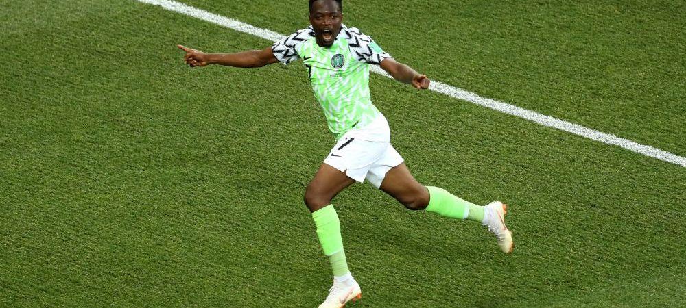 NIGERIA 2-0 ISLANDA   Musa ii da sperante lui Messi! Dubla nigerianului arunca in aer situatia din grupa D de la Mondial! Cum arata clasamentul inaintea ultimei etape