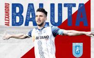 """""""Mi-am dorit mult sa ajung aici!"""" Prima declaratie a lui Alexandru Baluta dupa transferul de 3 milioane de euro! Ce numar a ales"""