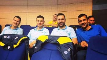 "INTERVIU | Ciolacu, fotbalist si antrenor la 25 de ani: ""Sper sa ajung sa antrenez Rapid in Liga 1!"""