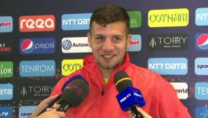 """Tu te-ai supara sa castigi la loto?"" Reactia FANTASTICA a lui Tucudean cand a fost intrebat de un transfer! VIDEO"