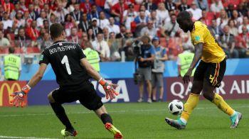Cupa Mondiala 2018. COSMAR pentru Lukaku dupa ce l-a egalat pe Cristiano Ronaldo! Cat de grava e accidentarea de la meciul cu Tunisia