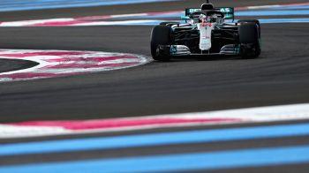 Mercedes a dominat in calificari in Marele Premiu al Frantei! Hamilton, un nou pole-position