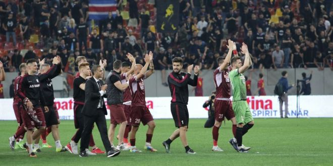 ACADEMIA RAPID 10-1 AFC SINGURENI | Rapid promoveaza in Liga a III-a! Daniel Niculae a marcat din foarfeca