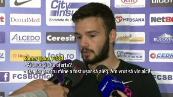 """Kamer Qaka: """"A fost usor pentru mine sa aleg Steaua! Nu mai ratam titlul!"""" Surpriza lui Dica pentru stelisti la antrenament"""