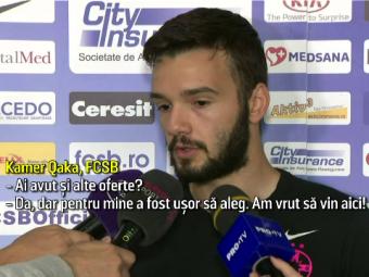 Kamer Qaka:  A fost usor pentru mine sa aleg Steaua! Nu mai ratam titlul!  Surpriza lui Dica pentru stelisti la antrenament