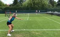 """Wimbledon 2018. Simona Halep intra in scena: """"Primul antrenament de la Roland Garros!"""" VIDEO"""